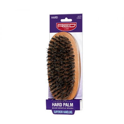Red by Kiss Hard Palm Boar Bristle Brush #BOR04