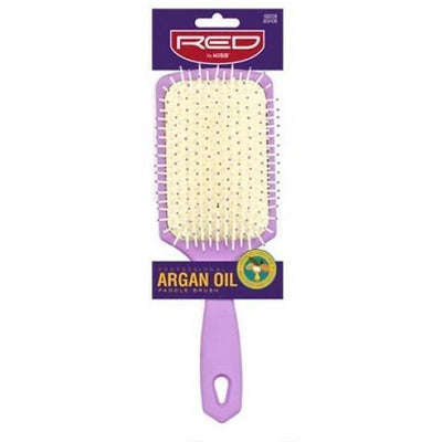 Red by Kiss Professional Argan Oil Paddle Brush #BSH08