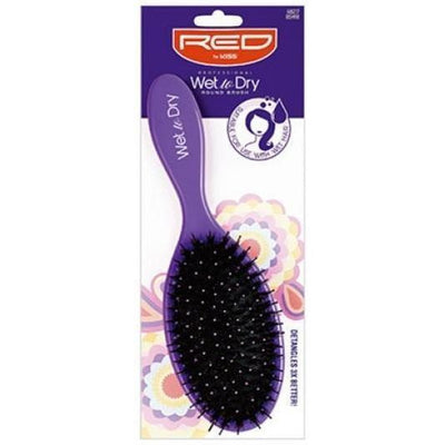 Red by Kiss Professional Wet To Dry Round Brush #BSH18