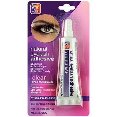Salon Pro 30 Sec Natural Eyelash Adhesive, Clear 0.25 OZ