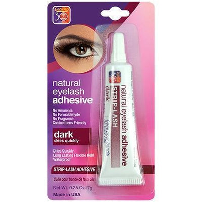 Salon Pro 30 Sec Natural Eyelash Adhesive, Dark 0.25 OZ