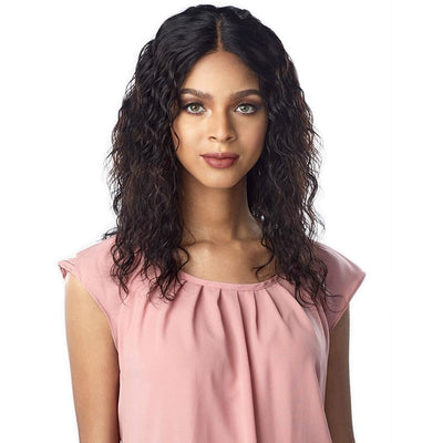 Sensationnel 10A Unprocessed 100% Virgin Human Hair Lace Wig – Natural Wave