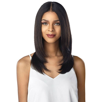 Sensationnel 10A Unprocessed 100% Virgin Human Hair Lace Wig – Straight