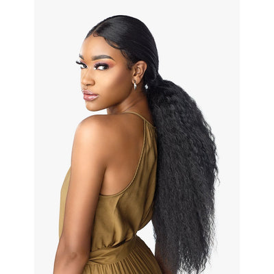 Sensationnel Synthetic Cloud 9 What Lace Custom Frontal Unit Swiss Lace Wig – Tasia Sleek Ponytail
