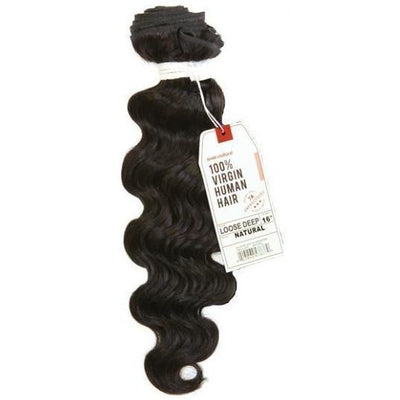 Sensationnel Bare & Natural 7A Virgin Human Hair Weave – Loose Deep