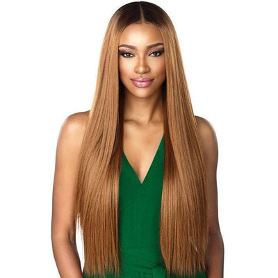 Sensationnel Human Hair Blend Boutique Bundles Weave – Straight