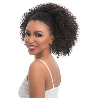 Sensationnel Instant Pony Drawstring Ponytail – Natural Afro 18