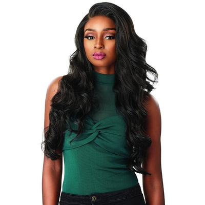 Sensationnel Cloud 9 What Lace Hairline Illusion Swiss Synthetic Lace Frontal Wig – Celeste