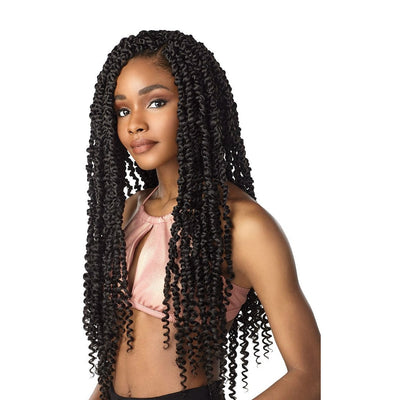 Sensationnel Lulutress Synthetic Braids – Passion Twist 18""