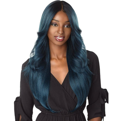Sensationnel Shear Muse One Pack Solution Synthetic Weave – Frontal Yaki Feather 4PCS