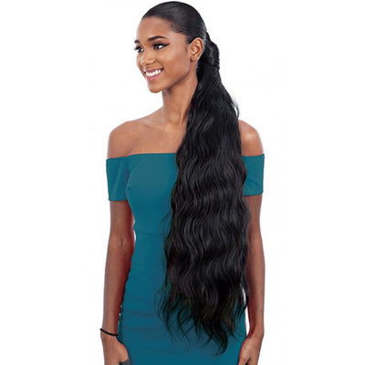 Shake-N-Go Organique MasterMix Wrap-Around Synthetic Ponytail - Body Wave 32""