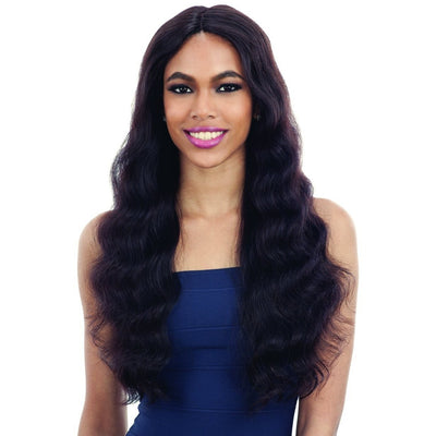 Shake-N-Go Naked Brazilian Natural 100% Human Hair Lace Part Wig – Natural 701