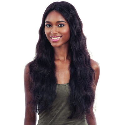 Shake-N-Go Naked Brazilian Natural 100% Human Hair Lace Part Wig – Natural 702