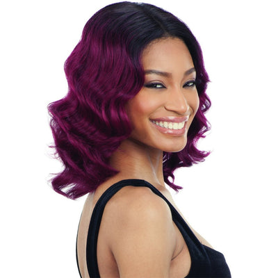 Shake-N-Go Naked Brazilian Natural 100% Human Hair Lace Frontal Wig – Delilah