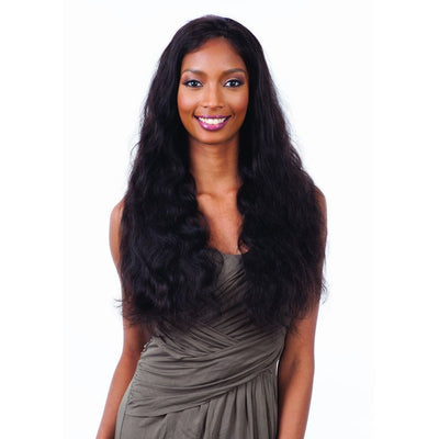 Shake-N-Go Naked Brazilian Natural Frontal Lace Wig – Natural 101 Body Wave 26""