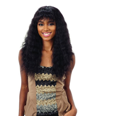 Shake-N-Go Naked Nature Wet & Wavy 100% Human Hair Wig – Deep Curl