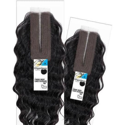 Shake-N-Go Organique MasterMix Synthetic Lace Closure – Loose Deep 16""