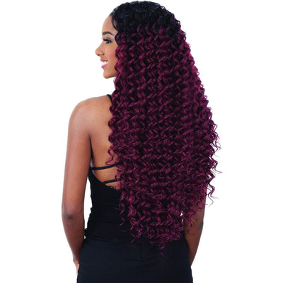 Shake-N-Go Organique MasterMix Synthetic Weave – Deep Wave 3PCS