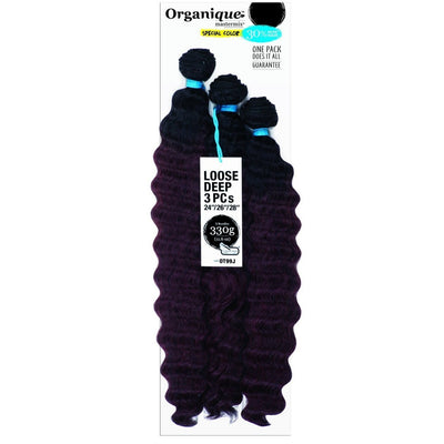 Shake-N-Go Organique MasterMix Weave – Loose Deep 3PCS