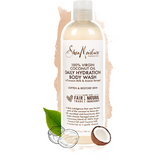 SheaMoisture 100% Virgin Coconut Oil Daily Hydration Body Wash 13 OZ