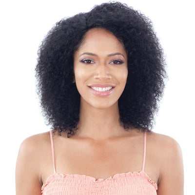 Shake N' Go Naked Nature Brazilian Natural 100% Human Hair Wet & Wavy Lace Front Wig - Summer Curl