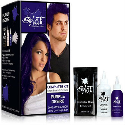 Splat Rebellious Colors Complete Kit – Purple Desire