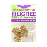 Magic Collection Filigree Hair Tube With Sun #FILICHA19 #ASST