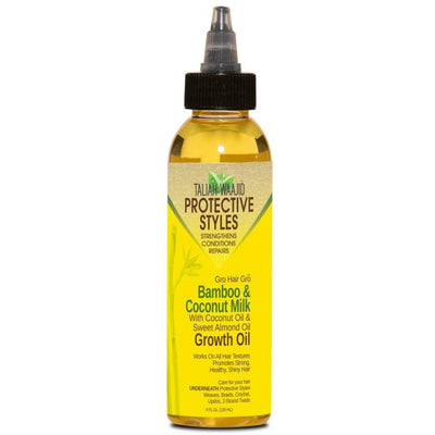 Taliah Waajid Protective Styles Bamboo & Coconut Milk Growth Oil 4 OZ