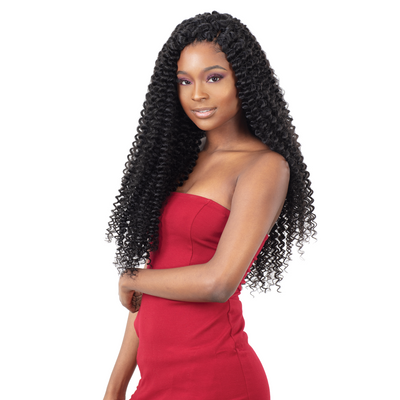 FreeTress Synthetic Crochet Braid - 3X Pearl Curl 18""