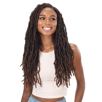 FreeTress Synthetic Braids - 3X Bona Loc 18""