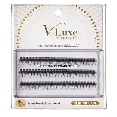 V-Luxe i-ENVY By Kiss Extension Cluster Individual Eyelashes – VLEI04 Mermaid Medium
