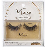 V-Luxe i-ENVY By Kiss Remy Hair Mink Lash Inspired Eyelashes – VLEF02 Crystal