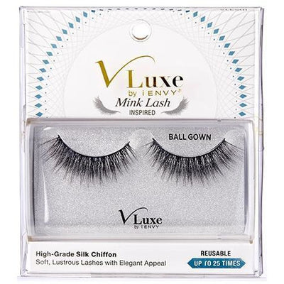 V-Luxe i-ENVY By Kiss Silk Chiffon Mink Lash Inspired Eyelashes – VLES01 Ball Gown