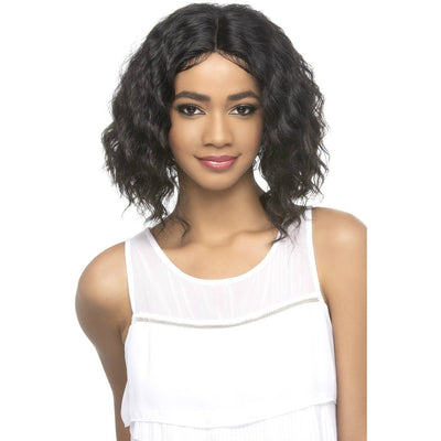 Vivica A. Fox 100% Brazilian Natural Remi Human Hair Swiss Lace Front Wig – Kamill