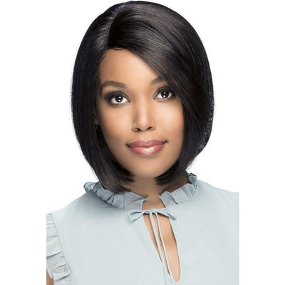 Vivica A. Fox 100% Brazilian Natural Remi Human Hair Swiss Lace Front Wig – Portia