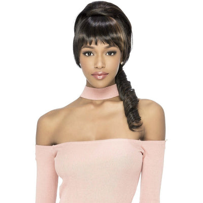 Vivica A. Fox Bang & Pony Ponytail – BP-Coney