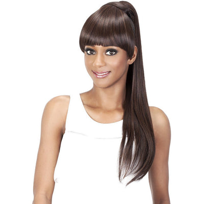 Vivica A. Fox Bang & Pony Ponytail – BP-Loui