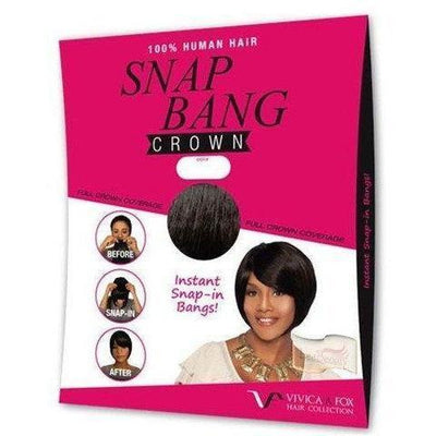 Vivica A. Fox Snap-In Bang – Crown
