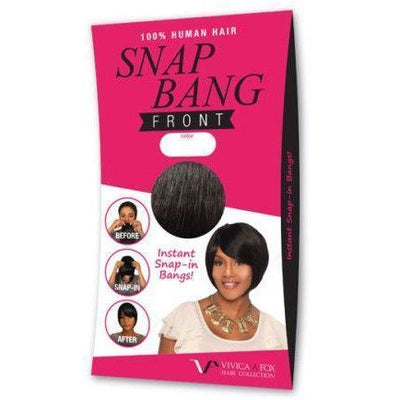 Vivica A. Fox Snap-In Bang – Front