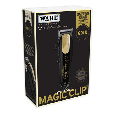 Wahl Professional 5 Star Series Cordless Magic Clip Limited Gold Edition #8148-100