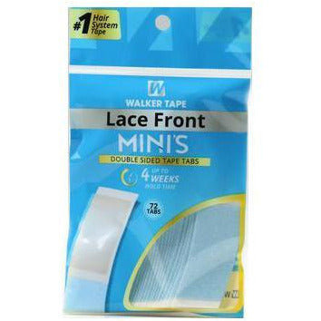 Walker Lace Front Mini's Strip Lace Front Tape 72 pc