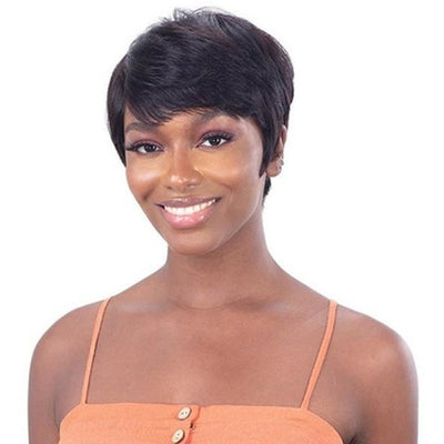 Shake-N-Go Naked Brazilian Natural 100% Human Hair Wig - Blade
