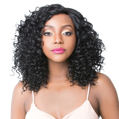 It's A Wig! Brazilian Human Hair Lace Front Wig - Jamica