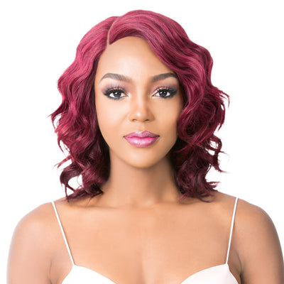 It's A Wig! Brazilian Human Hair Lace Front Wig - Lili