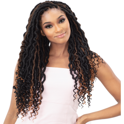 FreeTress Synthetic Crochet Braid - Hipsta Loc 18""
