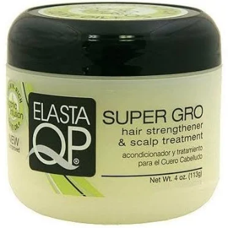 Elasta QP Super Gro Hair Strengthener & Scalp Treatment 5.3 OZ