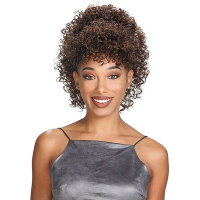 Zury Miss Bang Drawstring Synthetic Ponytail – Miss Bang Sol