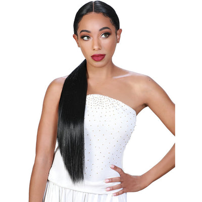 Zury Sis Beyond Ponytail Synthetic Lace Front Wig – Ione