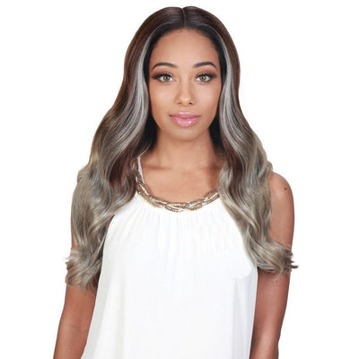 Zury Sis Synthetic Royal Swiss Lace Front Wig – Lady