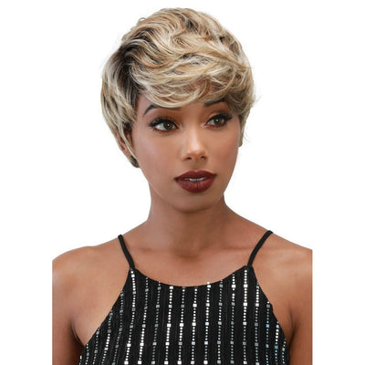 Zury Sis Synthetic Sassy Razor Chic Wig – Ginger